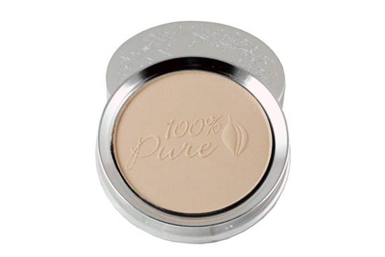 100% Pure Healthy Flawless Skin Foundation Powder SPF15 - utan parabener.