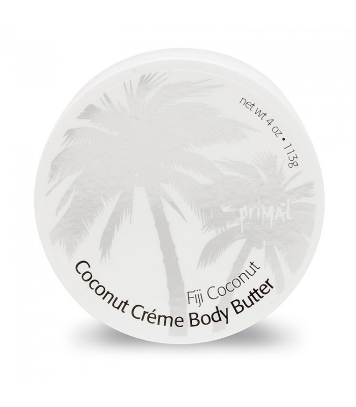 Primal Elements Coconut Creme Body Butter Fiji Coconut 300ml - utan parabener.