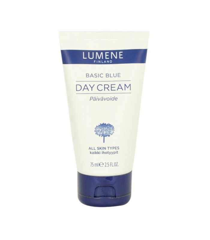Lumene Basic Blue Day Cream 75ml - All Skin Types - utan parabener.