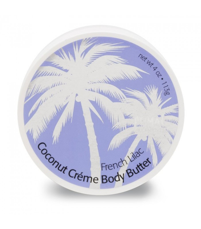 Primal Elements Coconut Creme Body Butters French Lilac 300ml - utan parabener.