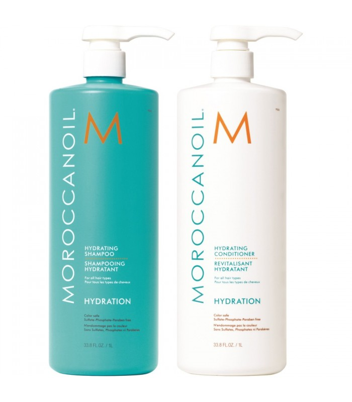 Moroccanoil Hydrating Duo 1000ml - utan parabener.