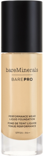 bareMinerals barePRO Performance Wear Liquid Foundation SPF 20 - utan parabener.