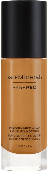 bareMinerals barePRO Performance Wear Liquid Foundation SPF 20 Hazelnu - utan parabener.