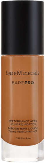 bareMinerals barePRO Performance Wear Liquid Foundation SPF 20 Cappucc - utan parabener.
