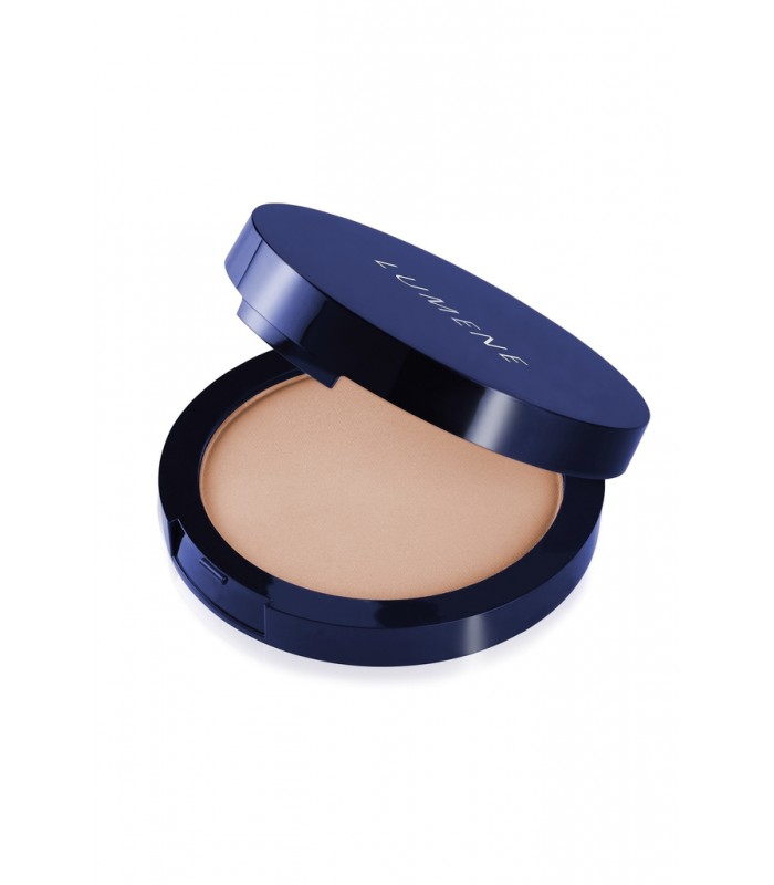 Lumene Luminous Matt Powder - 2 Soft Honey 10g - utan parabener.