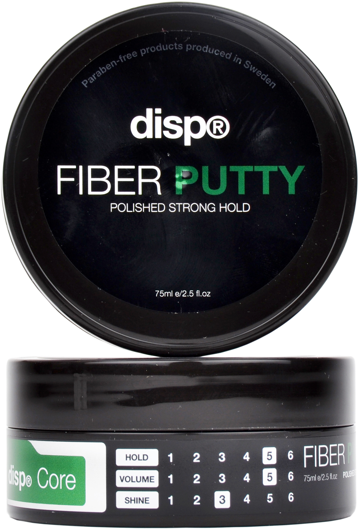 disp® Fiber Putty 75ml - utan parabener.