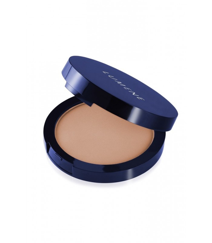 Lumene Luminous Matt Powder - 3 Fresh Apricot 10g - utan parabener.