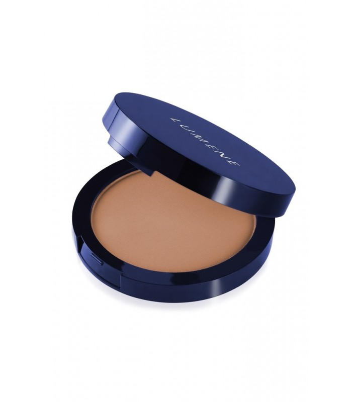Lumene Luminous Matt Powder - 4 Warm Beige 10g - utan parabener.