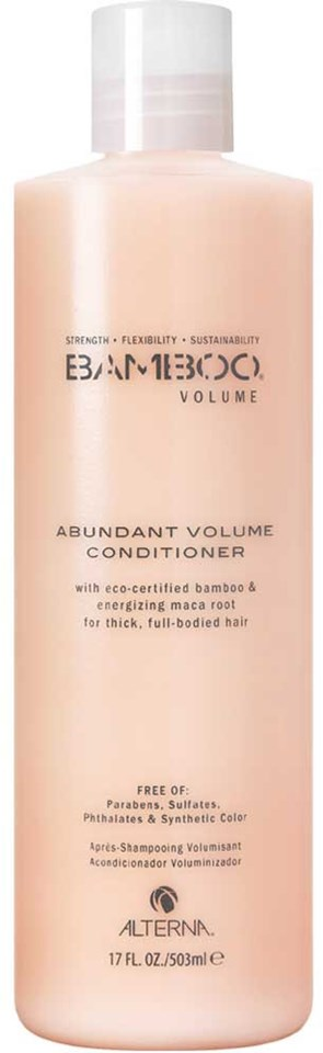 Alterna Bamboo Volume Abundant Conditioner (Utgår) 503ml - utan parabener.