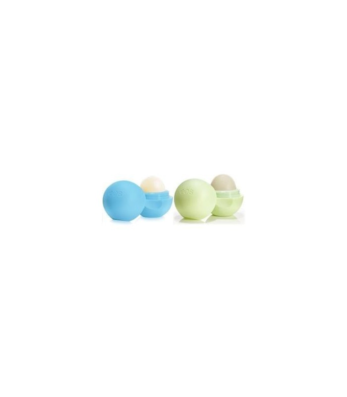 2-pack EOS Lip Balm Bluberry Acai & Honeysuckle Honeydew - utan parabener.
