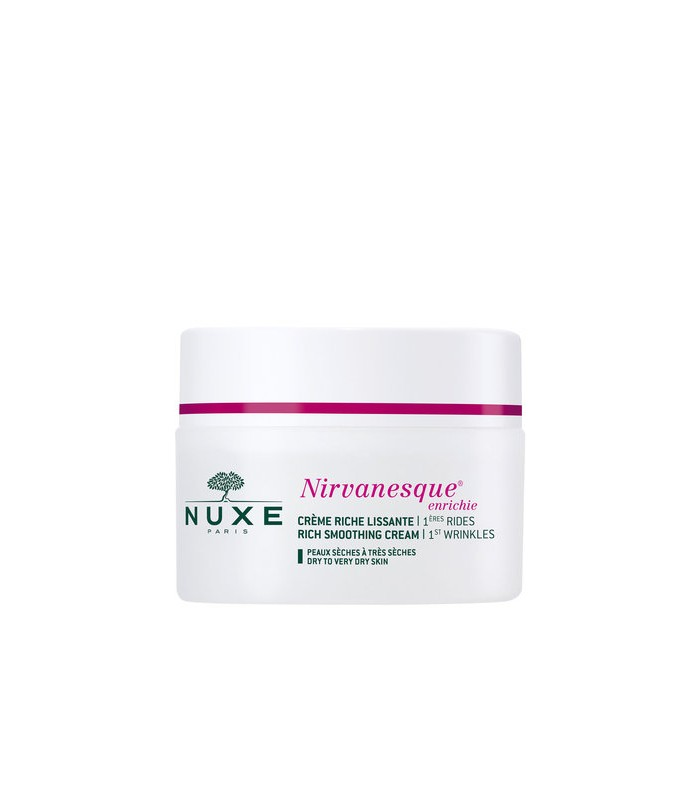 Nuxe Nirvanesque 1st Wrinkles Rich Smoothing Cream 50ml - utan parabener.